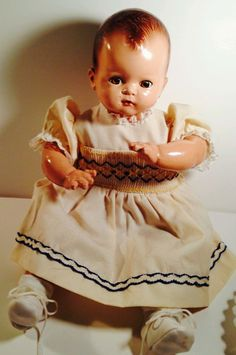 Vintage Ideal baby doll #Dolls