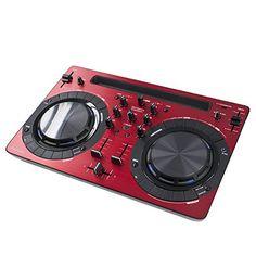 PIONEER RED Digital Mix With sound card | DDJ-WEGO-2 - http://djsoftwarereview.com/most-popular-dj-mixers/pioneer-red-digital-mix-with-sound-card-ddj-wego-2/ #DJMixer, #DJequipment, #PioneerDJ, #Music Mixer, #DJApp, #DJSoftware, #DJTurntables, #DJLighting