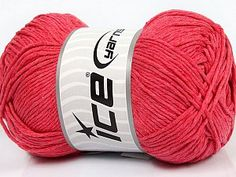 Please note that the yarn weight and the ball length may vary from one color to another for this yarn. Composition 100% Coton, Salmon, Brand Ice Yarns, fnt2-46492