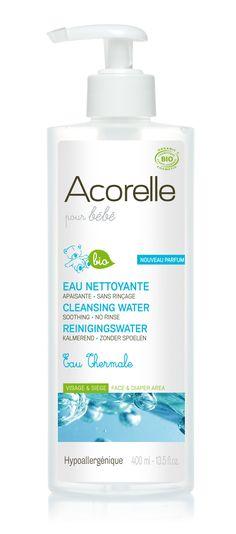 Sin necesidad de aclarado, es ideal para la delicada piel de la cara y las nalgas.