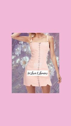 For Love & Lemons Monika Hook Front Mini Dress Clubbing Outfits, Dress Outfits, Fashion Outfits, Aesthetic Look, Aesthetic Clothes, Hot Dress, Pink Dress, Everyday Dresses, For Love And Lemons