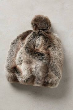 Claudine Faux-Fur Hat | Pinned by topista.com