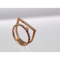 - . . . 스틱이중반지 , 하나만 착용했는데 투링을 착용한듯한  포인트 반지 #jewelry #14k #18k #rosegold #메이주얼리…