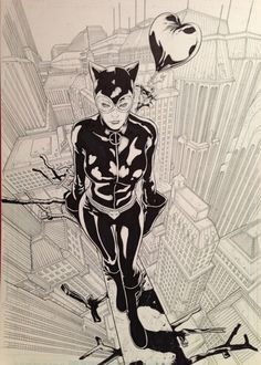 Catwoman by Rafa Sandoval