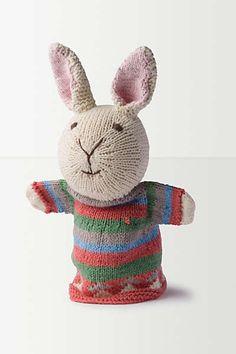 Rabbit Hand Puppet
