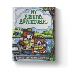 Personalized Children's My Fishing Adventure Book