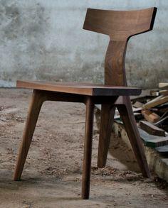 Beautiful wood chair.