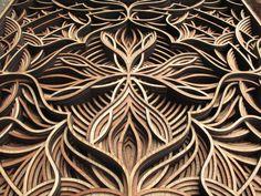 Esculturas de madeira recortadas a laser - IDEAGRID _02