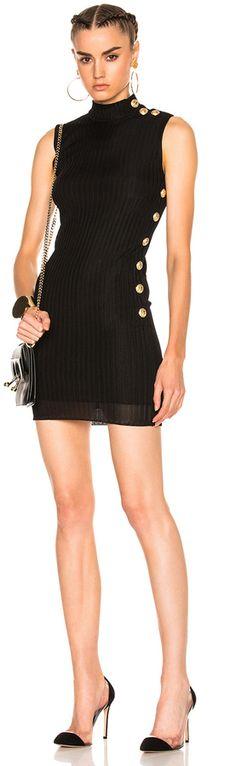 BALMAIN Knit Mini Dress | #Chic Only #Glamour Always