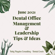 Dental Office Management and Leadership Ideas for June 2021 | Dental Practice Management, Team Morale, Office Management, Hello To Myself, Leadership Tips, Assertiveness, Social Media Site, Do You Know What, Marketing Ideas