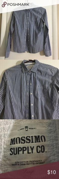 Button down Classic work shirt Mossimo Supply Co Tops Button Down Shirts