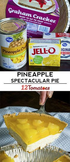Pineapple Spectacular Pie