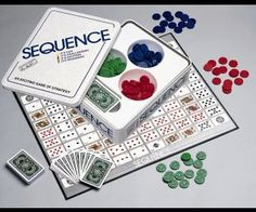 Sequence Strategy Board Game play-offs