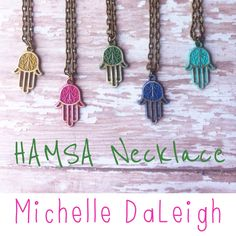 Hamsa Necklace Vintage Style Yoga Necklace  by michelledaleigh on Etsy https://www.etsy.com/listing/219938568/hamsa-necklace-vintage-style-yoga