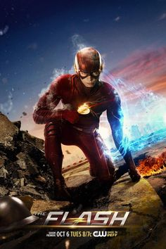 'Barry Allen' Harnesses The Speed Force In Awesome New Poster For THE FLASH