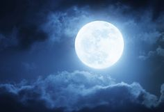 dramatic photo illustration of a nighttime sky with brightly lit clouds and large bright full moon would make a great background. Next Full Moon, Full Blue Moon, Nighttime Sky, Full Moon Party, Dramatic Photos, Cancer Moon, Moon Magic, Lunar Eclipse, Super Moon