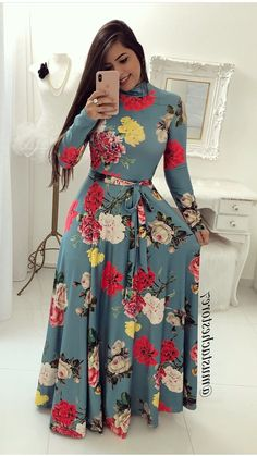 Order # western wear on WhatsApp number or ArtistryC. Lovely Dresses, Modest Dresses, Vintage Dresses, Casual Dresses, African Fashion Dresses, African Dress, Indian Dresses, Modest Fashion, Hijab Fashion