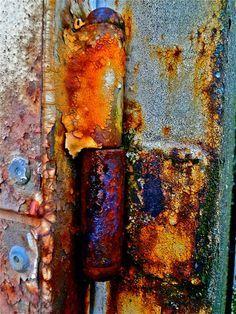 Texture scouting - trust the rust by MizzieMorawez Rust Never Sleeps, Rusted Metal, Painting Rusty Metal, Metal Art, Abstract Photography, Texture Art, Metal Texture, Rust In Peace, Peeling Paint
