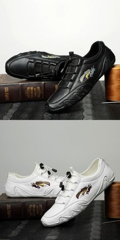 US 31.2 <Click to buy> Prelesty Fashion New Soft Genuine Cow Leather Men Loafer Shoes Moccasin Classic Breathable Driving Loafer Shoes, Loafers Men, Men's Shoes, Shoe Boots, Ankle Boots, Shoes Sneakers, Cow Leather, Suede Leather, Awesome Shoes