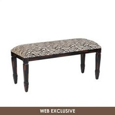 Celebrate the timeless appeal of zebra stripes with this distressed wood bench. Ideal for any space, complete your décor with our zebra stripe bench. Colorful Fish, Tropical Fish, Betta Fish, Furniture Sale, How To Distress Wood, First Home, Vanity Bench, Zebra Print, Dining Bench