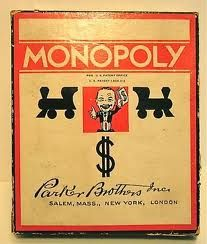 Monoply- another game that never seemed to end.