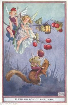 Artist Signed Rene Cloke Fairy Is This The Road to Fairyland | eBay
