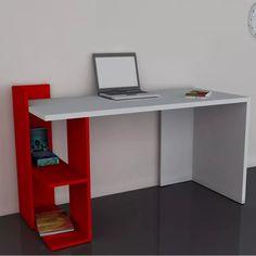 escritorio moderno melamina mueble pc oficina