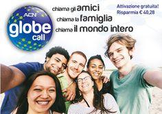 Globe Call Il piano tariffario ACN Globe Call è l'ultima offerta della Telefonia digitale ACN (DPS). Con in mente le tue esigenze, abbiamo personalizzato questo piano tariffario tipicamente internazionale includendo quante più destinazioni preferite dai nostri clienti della Telefonia digitale ACN. ACN Globe Call ti consente di chiamare amici e parenti all'estero, sia sulla rete fissa che mobile! Ti basterà collegare il tuo Adattatore telefonico