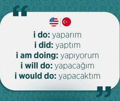 English Verbs, Learn English Grammar, English Vocabulary Words, Learn English Words, Learn Turkish Language, Learn A New Language, Words To Use, New Words, Learning Languages Tips