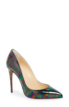 Free shipping and returns on Christian Louboutin 'Pigalle Follies' Pump (Women)…