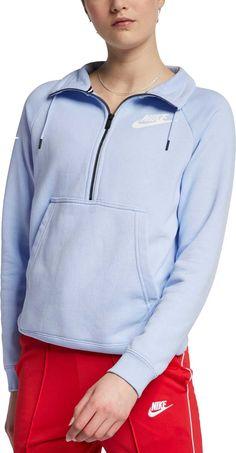 d326abd86e17 Nike Women s Sportswear Rally Half-Zip Sweatshirt