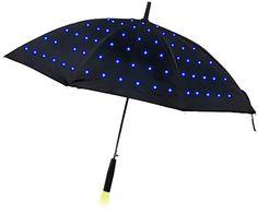 LED Umbrella, $24.99 ThinkGeek.com