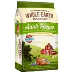 Whole Earth Farms Puppy Dog Food Whole Earth Farms dry kibble formulas were created as a truly holistic food at a value price, without compromising the quality of your beloved pet's food. We take the best, healthy ingredients from the earth and mix them i Farm Dogs, Whole Earth, Natural Dog Food, Dry Dog Food, Pet Food, Puppy Food, Fresh Fruits And Vegetables, How To Increase Energy, Vitamins And Minerals