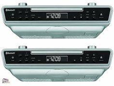 Home Audio: Sylvania Under Counter Cabinet Cd Player Radio Bluetooth Remote Speaker Music Fm BUY IT NOW ONLY: $60.35