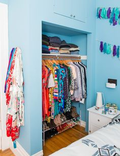 Sweet (well-organized and color coordinated) dreams.