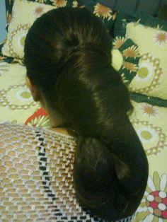 Beautiful Buns, Big Bun, Bun Hairstyles For Long Hair, Pinterest Hair, Oily Hair, Picture Logo, Stylish Girl Images, Hair Photo, Girls Image