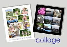 Photo collages are an excellent way to display cell phone and instagram photos. They look amazing when photos are grouped by theme, event, season or mood. Print Your Photos, Great Photos, Month Of July, Photo Supplies, Coupon Codes, Photo Collages, Polaroid Film, Seasons, Amazing