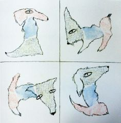 "Carla Sonheim ""Imaginary Animals"" one shape -> several possibilities!"