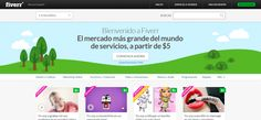 Fiverr home page Tech Gifts, Site Design, Cool Websites, Online Marketing, How To Get, Writing, Cool Stuff, Business, Social