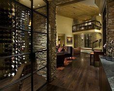 Contemporary Wine Cellar Design, Pictures, Remodel, Decor and Ideas