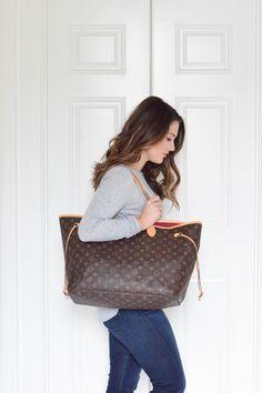 Louis Vuitton Neverfull GM Louis Vuitton Neverfull Sizes c59d0d2721598