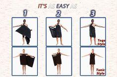 towel toga