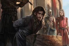 The Beheading of Ned Stark by Magali Villeneuve