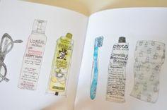 scrapbook.: Dawn Tan. Illustrator. Melbourne