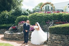 [Wedding] - Park Savoy Estates in Florham Park, NJ - Ben Lau Second Wedding Dresses, Wedding First Look, Second Weddings, Florham Park, Wedding Ceremony, Wedding Day, Live Picture, Vows, How To Memorize Things