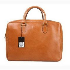 841e1b30db0 New Mulberry Mens Tony Printed Leather Laptop Briefcase Light Coffee  Coupons Sale