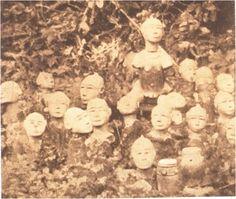 sacred grove between Agona Swedru and Winneba - Ghana c 1900