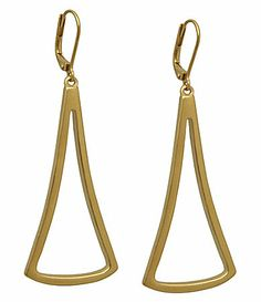 Tahari - Essential Triangle Drop Earrings