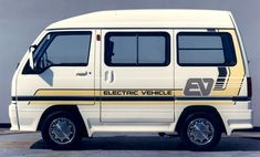 Mitsubishi Minicab EV Concept, An EV they prepared earlier, the Minicab is a Kei-sized van, it was not until 2011 that it was made commercially available with a electric drivetrain Mitsubishi Minicab, Subaru, Truck Accesories, Suzuki Carry, Kei Car, 4x4 Van, Cab Over, Mini Trucks, Japan Cars