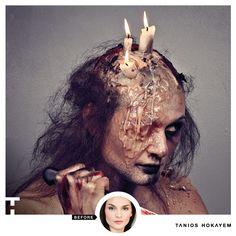 Turning the Beautiful actress Valentina Simoni into a Possessed Women. Special Effects Makeup & Photography by #TaniosHokayem #lebaneseMakeupArtist -- #makeupdesigner #TH #hollywood #lebanon #mua #creative #photographer #losangeles #usa #instalike #star #celebrity #instamood #filmmaker #actress #filmdirector #producer #blood #injury #horror #halloween #witch #devil #women #candle #art #editorial #insta